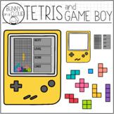 Tetris Clipart Set by Bunny On A Cloud