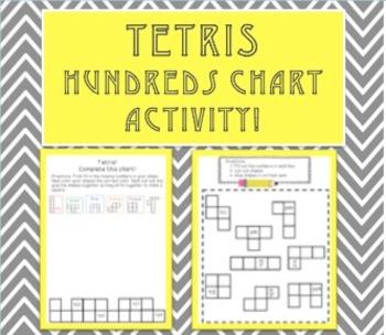 Tetris Hundreds Chart Activity!