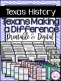 Texans Making A Difference: 4th Grade TEKS-based Social Studies Unit 12