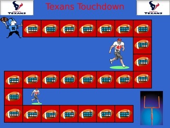 Texans Touchdown! - Game of Making 10