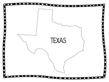 Texas | Texas Activities | Texas State Symbols | Texas Printables