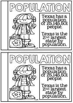 Texas State Study Booklet - Texas Facts and Information