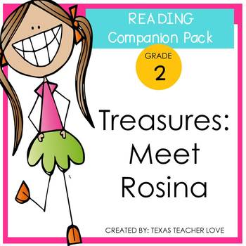 Treasures Reading Series: Meet Rosina Companion Pack