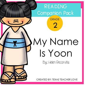 Treasures Reading Series: My Name is Yoon Companion Pack