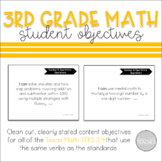 I Can Statement Posters Math Texas 3rd Grade TEKS 3.4