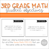 I Can Statement Posters Math Texas 3rd Grade TEKS 3.5