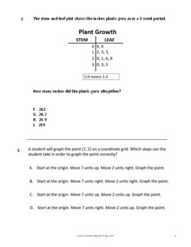 Texas 5th Grade FULL LENGTH Practice STAAR Exam