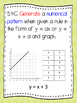 Texas 5th Math Student Expectation Posters (SE CHART) ALL TEKS
