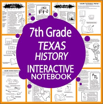 Texas History Vocabulary Worksheets Teaching Resources TpT