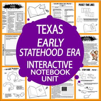 Texas Early Statehood Era~7th Grade Texas History