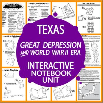 Great Depression and WW II Era~7th Grade Texas History