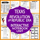 Texas Revolution and Texas Republic Era – 7th Grade Texas History