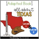 Texas Adapted Books (Level 1 & Level 2) | Texas State Symbols
