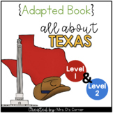 Texas Adapted Books (Level 1 & Level 2) | Texas State Symbols