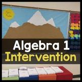 Texas Algebra Intervention Curriculum ✩ Math Mountain MEGA