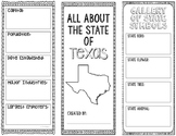 Texas - State Research Project - Interactive Notebook - Mini Book