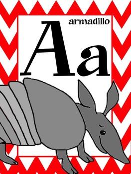 Texas Alphabet Poster Set
