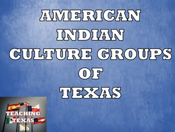 Texas American Indian Cultures