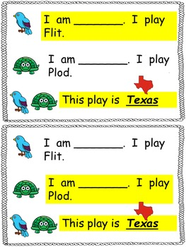 Texas- An Easy to Read Partner Play