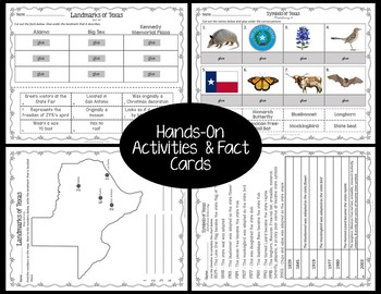 Texas BUNDLE: Symbols and Landmarks