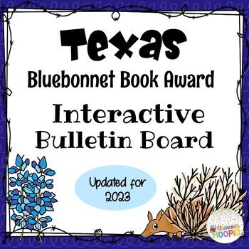 Texas Bluebonnet Award Interactive QR Bulletin Board