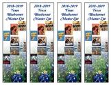 Texas Bluebonnet Bookmarks (2018-2019)