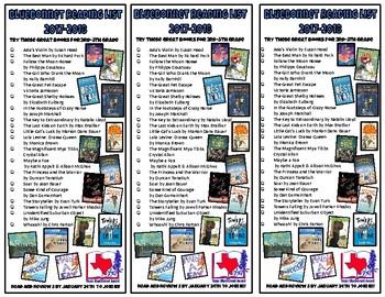 Texas Bluebonnet Books 17-18