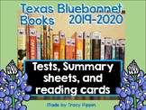 Texas Bluebonnet Books 2019 - 2020 Tests, Review, and Summ