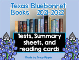 Texas Bluebonnet Books 2021-2022, Tests, Review, and Summa