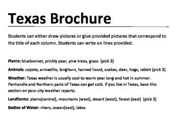 Texas Brochure