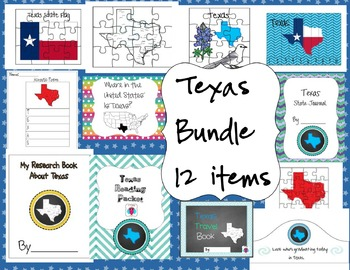 Texas Bundle 12 Resources