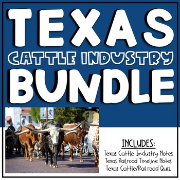 Texas Cattle Industry Bundle