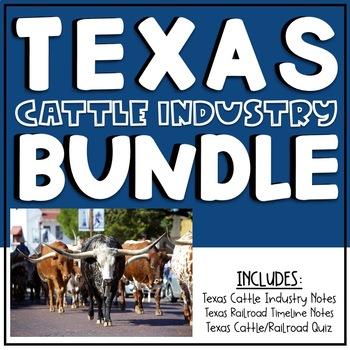 Texas Cattle Industry Bundle
