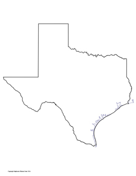 Texas Climate Cloze Passage with Map Activity