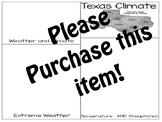 Texas Climate:Pearson My World Texas Social Studies Gr. 4 Ch 1:L.3