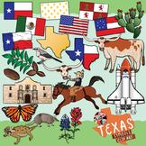 Texas State Symbols Clip Art