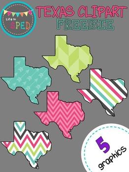 Texas Clipart Freebie