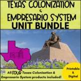 Texas Colonization **BUNDLE**