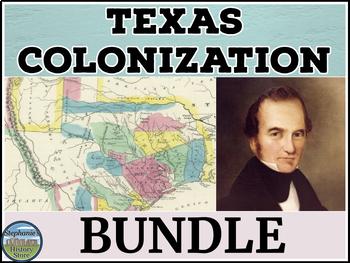 Texas Colonization BUNDLE