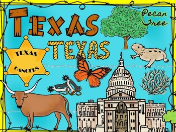 Texas Color Clip Art COMBO Pack  - Personal and Commercial use