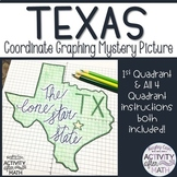 Texas Coordinate Graphing Mystery Picture(First Quadrant &