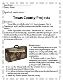 Texas County Suitcase Project