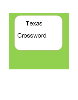 Texas Crossword