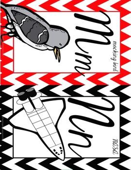 Texas Cursive Alphabet Poster Set