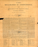 Texas Declaration Excerpts and Dialectal Journal
