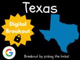 Texas - Digital Breakout! (Escape Room, Scavenger Hunt, Brain Break)