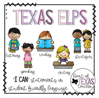 Texas ELPS I Can Statements