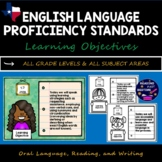 English Language Proficiency Standards ELPS Posters for Ob