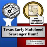 Texas Early Statehood Scavenger Hunt