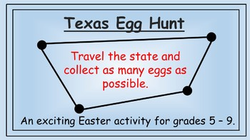 Texas Easter Math Activity
